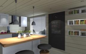 Visualisointi keittiöstä